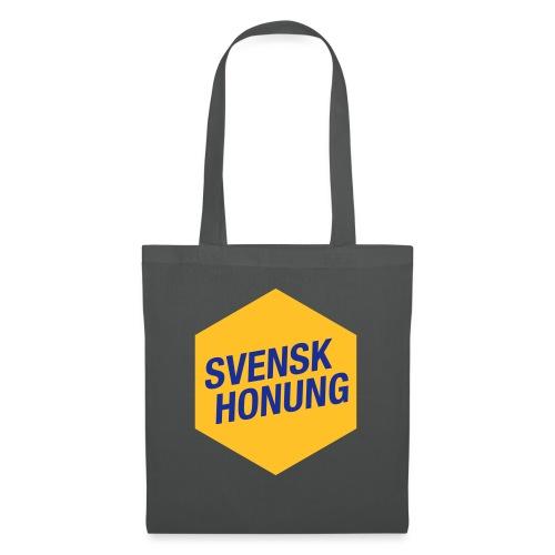 Svensk honung Hexagon Gul/Blå - Tygväska