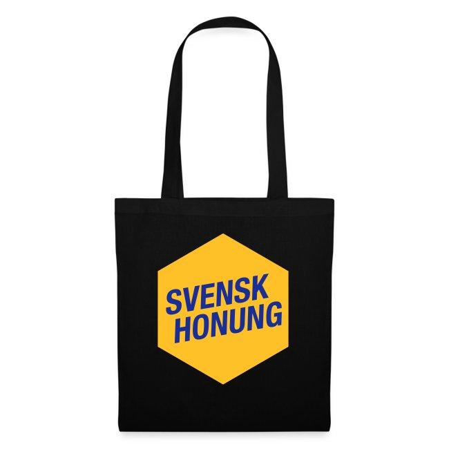 Svensk honung Hexagon Gul/Blå