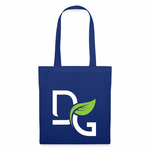 DrGreen Logo Symbol weiss grün - Stoffbeutel