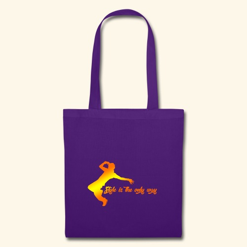 Style is the only way - Borsa di stoffa