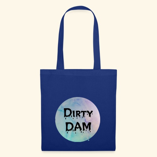 Dirty DAM dark - Tote Bag