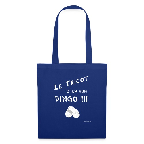 Tricot dingo - Sac en tissu