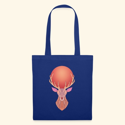 Roi Cerf Pamplemousse - Tote Bag