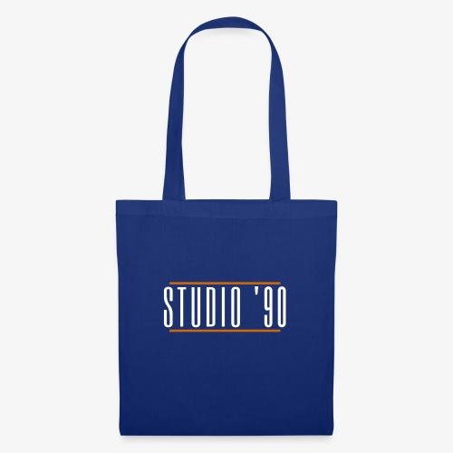 Logo wit Studio 90 - Tas van stof
