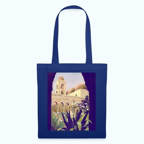 Palermo Vintage Travel Poster - Tote Bag
