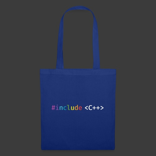 rainbow for dark background - Tote Bag