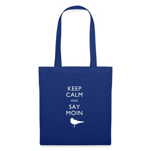 KEEP CALM AND SAY MOIN - Stoffbeutel