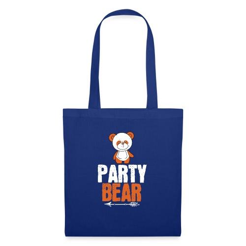 party bear - Tas van stof