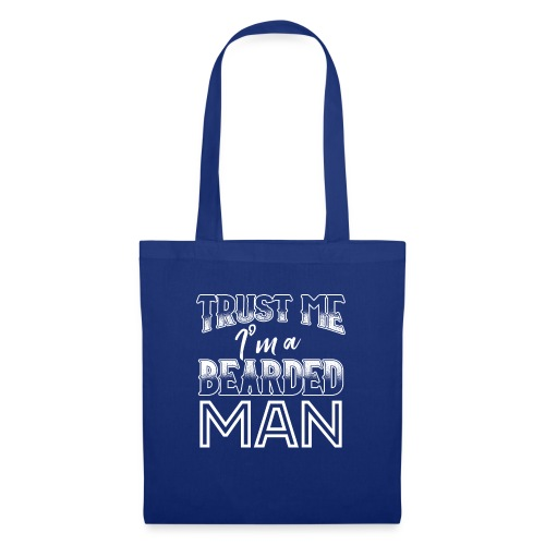 TRUST ME I'M A BEARDED MAN - Stoffbeutel