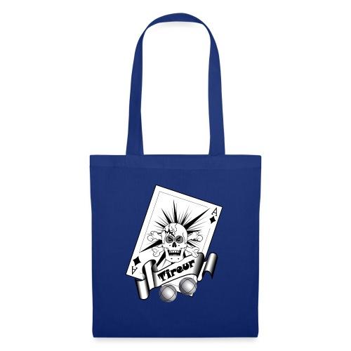 t shirt petanque tireur crane carreau boules - Tote Bag