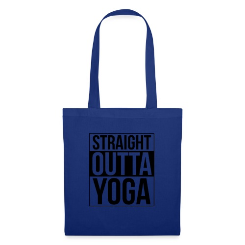 Straight Outta Yoga Design - Tote Bag