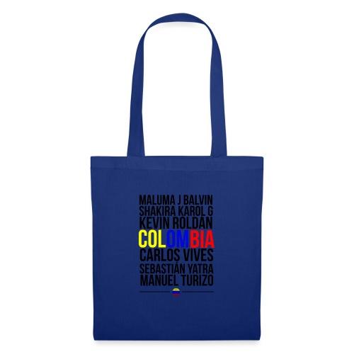 Reggaeton Shirt Kolumbien - Stoffbeutel