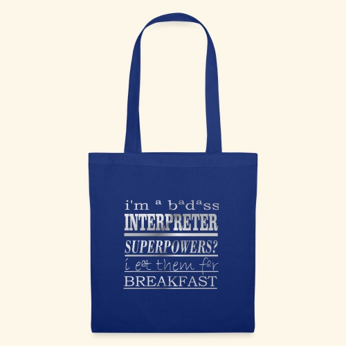 INTERPRETER - Borsa di stoffa