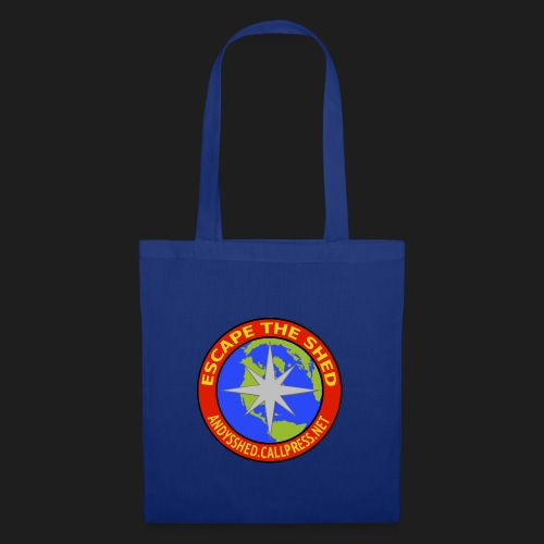 Escape The Shed Badge - Tote Bag
