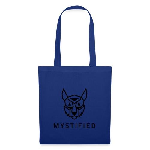 Mystified logo - Tas van stof
