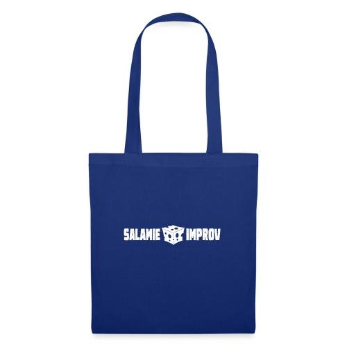 Salamie Improv + Logo (White official) - Tas van stof