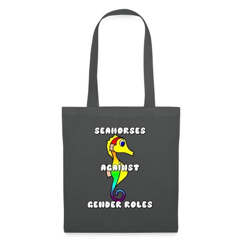 Seahorses against gender roles - Tote Bag