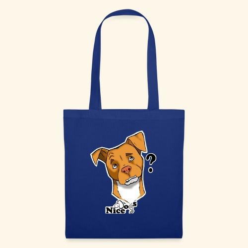 Nice Dogs pitbull 2 - Borsa di stoffa