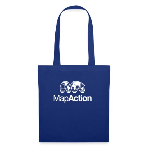 MapAction White on Tranparent - Tote Bag