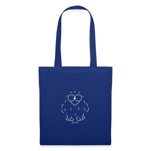Niki Owl (blanco) - Tote Bag