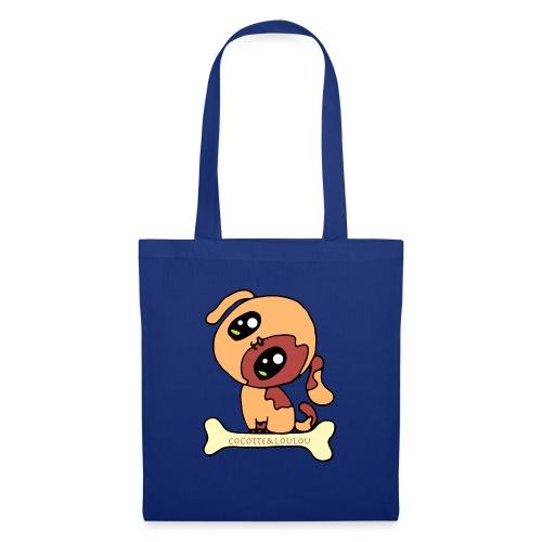 Kawaii le chien mignon - Tote Bag