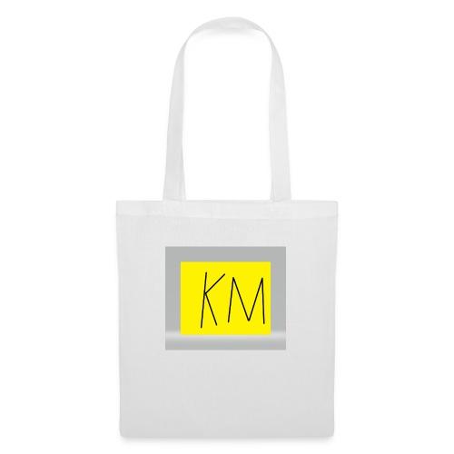 KM logo kleding - Tas van stof