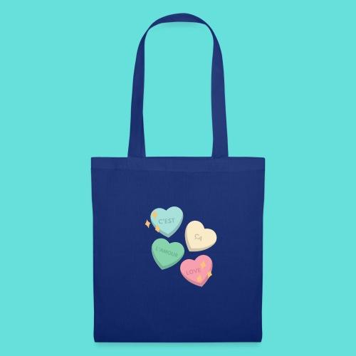 C'est ça l'amour, love - Tote Bag