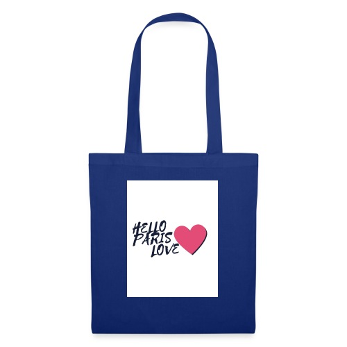 hello paris love 2 - Tote Bag