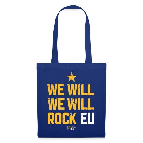 We want to rock EU | SongsFor.EU - Tote Bag