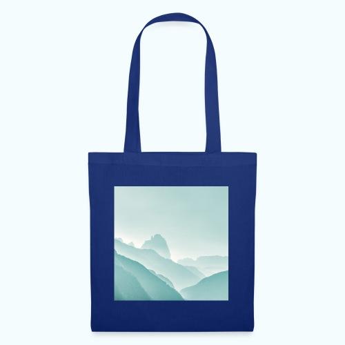 Minimalist zen mountains pastel - Tote Bag