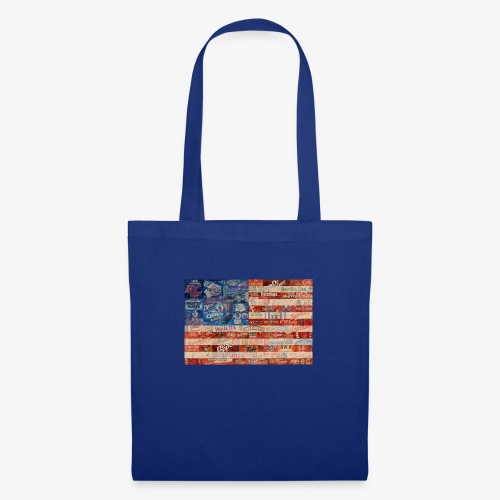America flag - Tote Bag