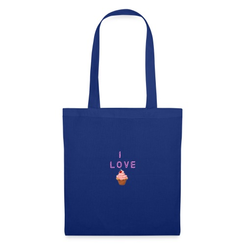 I LOVE CUPCAKES - Bolsa de tela