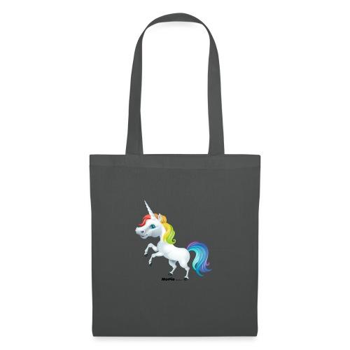 Regenboog eenhoorn - Tas van stof