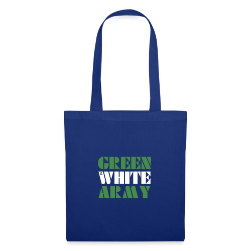 GREEN & WHITE ARMY - Tote Bag