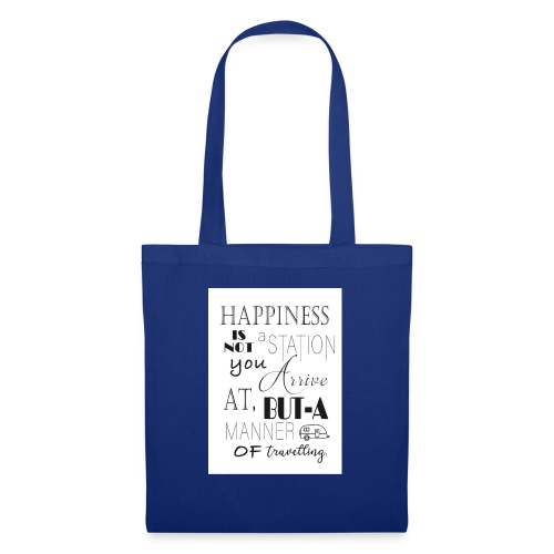Travel Happy - Tote Bag