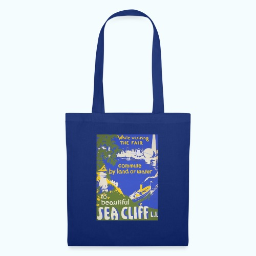 Lake travel vintage poster - Tote Bag