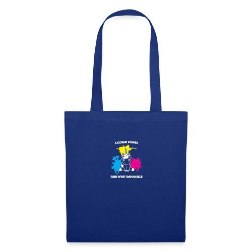 Stickers licorne - Tote Bag