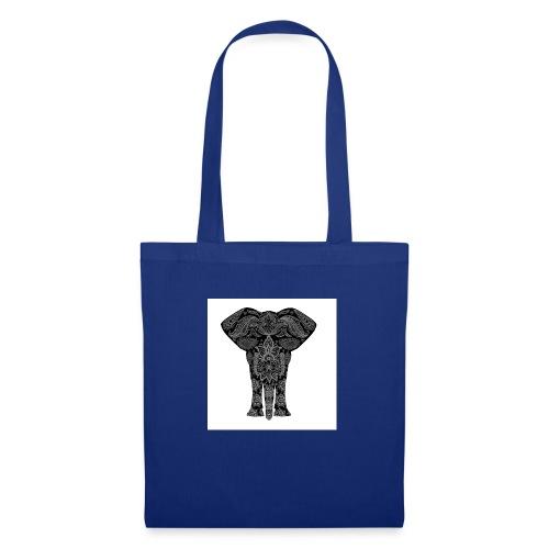 elefant - Stoffbeutel