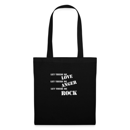Love Anger Rock - Tote Bag