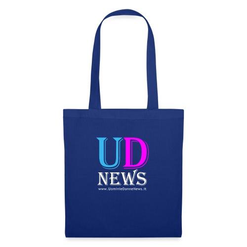 La maglietta di Uomini e Donne News scura - Borsa di stoffa