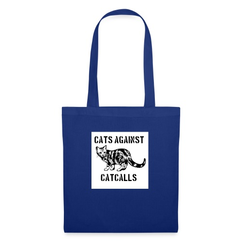 Cats against catcalls - Tote Bag