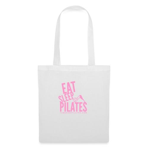 eat sleep pilates 2019 pink - Tote Bag