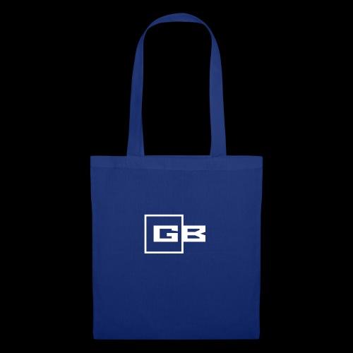 Valkoinen Gymbox logo - Kangaskassi
