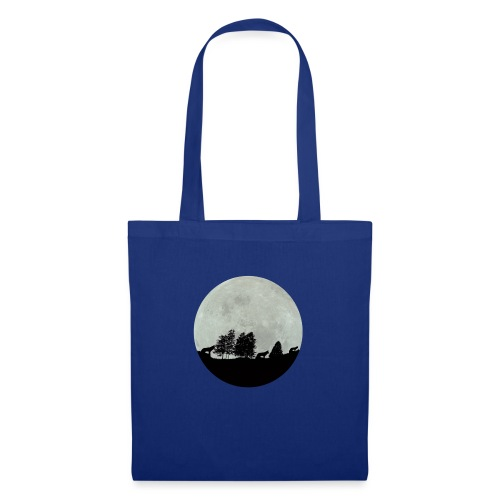 moon wolf - Tote Bag