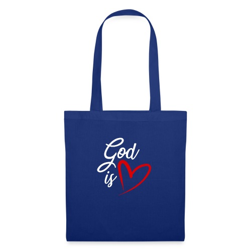 God is love 2B - Borsa di stoffa