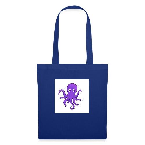 Little purple Octopus, baby nursery wall art decor - Borsa di stoffa