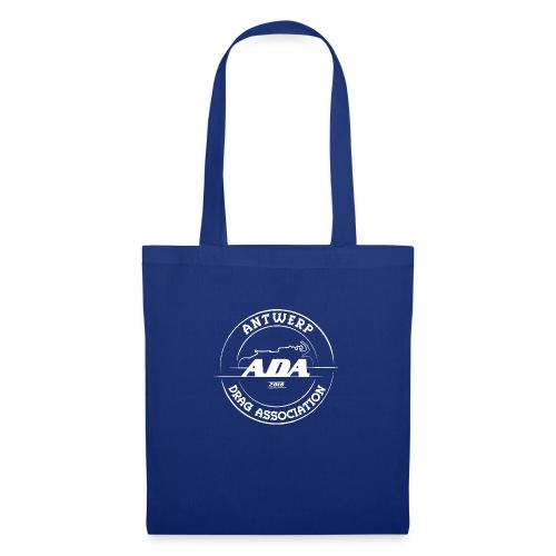 ADA DRAG Logo Groot Wit - Tas van stof