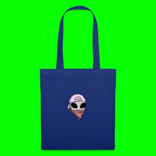 gangsta alien logo - Borsa di stoffa
