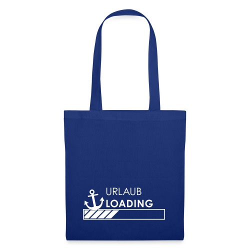 Urlaub loading - Stoffbeutel