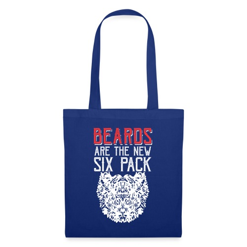 BEARDS ARE THE NEW SIXPACK - Bart Sixpack - Stoffbeutel